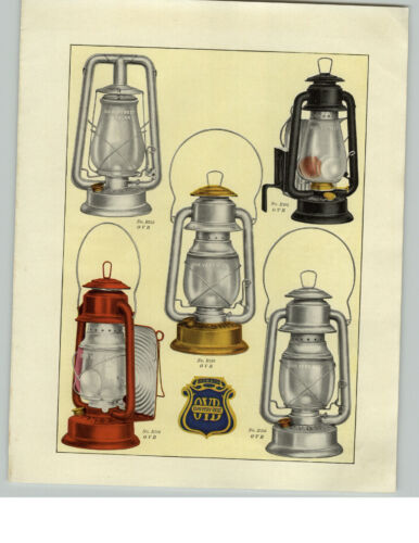 1919 PAPER AD Tubular #2 Lantern Red Black Dash OVB Our Very Best COLOR