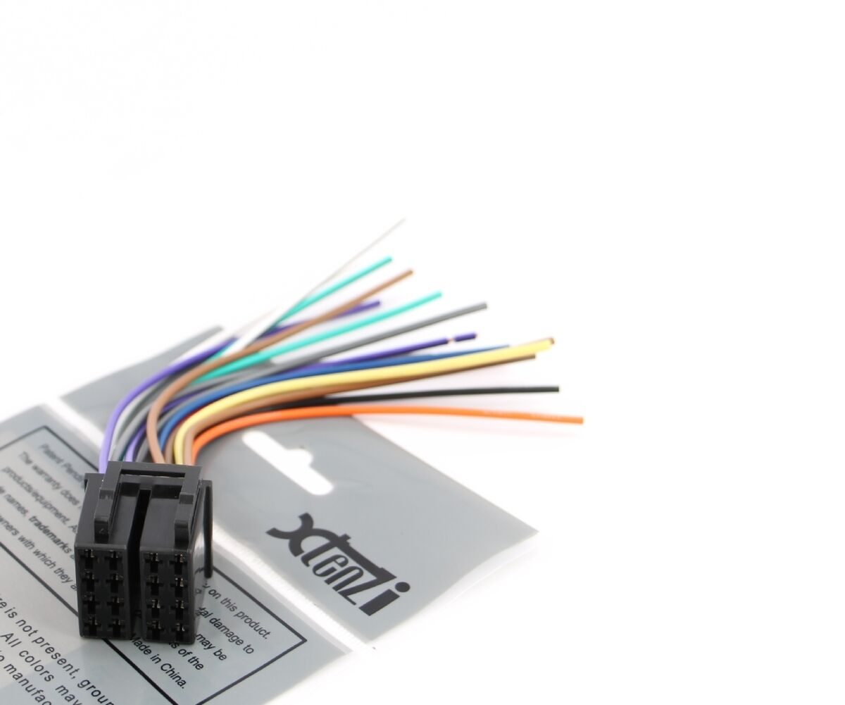 xtenzi 16 pin radio wire harness for pyle pldn72bt \u0026 pldn70u