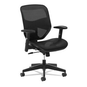 Basyx-VL534-Mesh-High-Back-Task-Chair-Adjustable-Arms-Black-BSXVL534MST3