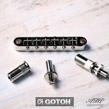 CHEVALET GOTOH GE103B-T Nashville TuneOMatic pour GIBSON LP SG ES Bridge 6,4mm8M