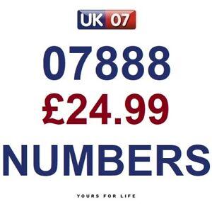 07888 24 99 Gold Easy Memorable Business Platinum Vip Uk Mobile Phone Numbers Ebay
