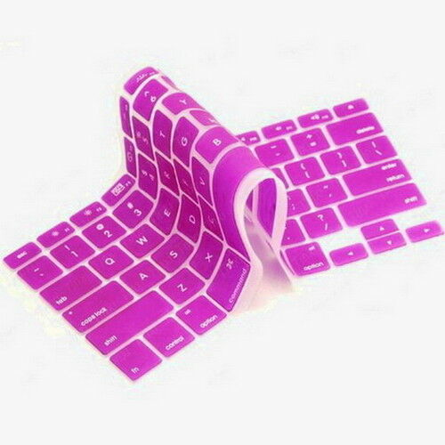 Keyboard Skin Cover Protector for Apple iMac MacBook Air Pro 13 15 17 Touch Bar