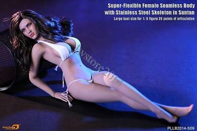 "TBLeague Phicen 1//6 Female Body /& Head Model /& Stand 12/"" Figure PLLB2014-S09"