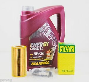 5 l mannol energy ll 5w 30 longlife mann lfilter audi a1 a3 a4 a6 tt 2 0tsfi ebay. Black Bedroom Furniture Sets. Home Design Ideas