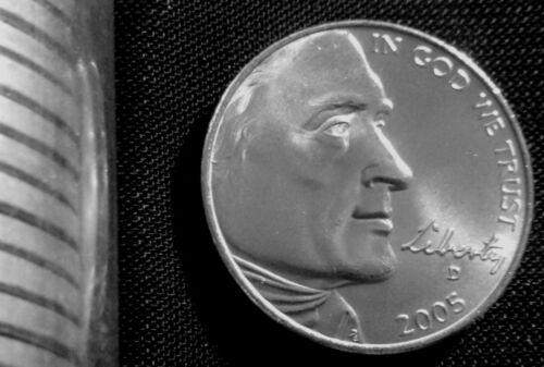 2005-D Denver Mint Jefferson 5 Cent Nickel Bison  BU