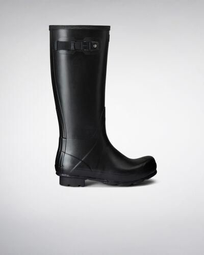 Genuine New Hunter Norris Field Men Black Wellington Boots UK sizes 6-12