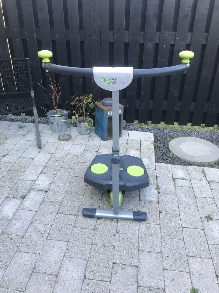 Hometrainer, Træningsmaskine, Twist and shape