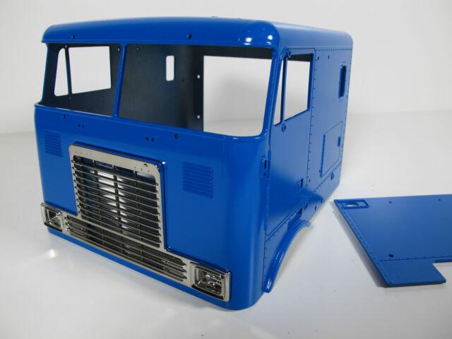Tamiya 1/14 GlobeLiner Cab Cabine Body Tractor Door Front Grill TS-44 Paint
