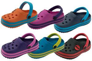 Enfants Sabots été Confortable Mules Plage Sandale Tongs Piscine Chaussons Garçon Chaussures Fille-afficher Le Titre D'origine Nouveau Design (En);