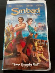 Sinbad Legend of the Seven Seas VHS, 2003, CLAMSHELL | eBay