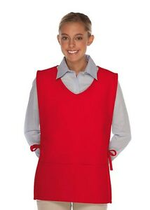 Daystar-Aprons-1-Style-435-V-Neck-cobbler-aprons-Made-in-USA