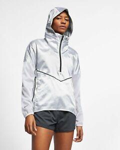 Details zu Nike Damen Kapuzenpulli Laufjacke Rauchende Colts Weiß Schwarz Outdoor Kleidung