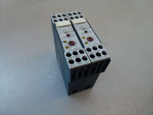 2 Stück Siemens 7PU4220-2BN20 Zeitrelais