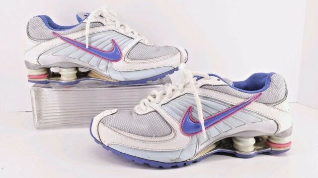 Nike Shox Turbo 8 Blue   White Youth Athletic shoes. Size 6.5 Y  eefe3377e