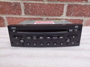 Peugeot-206-307-807-Partner-Clarion-RD3-CD-Player-FREE-VIN-CODING-TO-YOUR-CAR