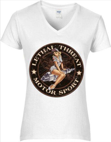 Tee-shirts Femme vintage Pin up Gasoline