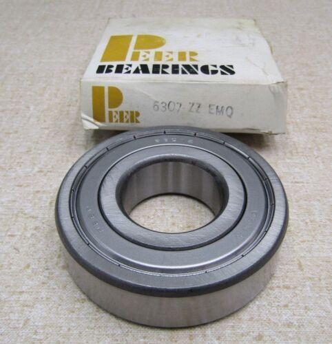 mm Peer 6307-ZZ EMQ Metal Shielded Ball Bearing 35x80x21
