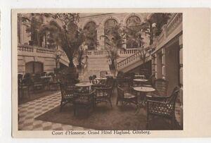 Sweden-Court-d-039-Honneur-Grand-Hotel-Goteborg-Postcard-B240
