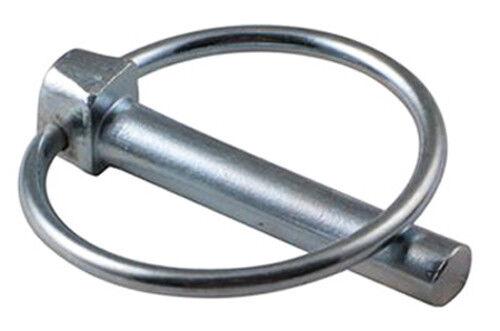 50 unidades klappsplinte 9mm plegable conector chavetas klappsplint acero galvanizado chaveta