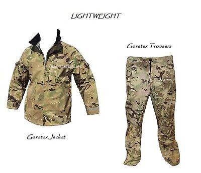 Goretex Mtp Leggero Goretex Giacca + Pantaloni Autentico Problema Grado 1-mostra Il Titolo Originale