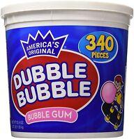 Dubble Bubble Gum 53.9 Ounce - 340 Count Bucket