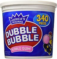 Dubble Bubble Gum 53.9 Ounce - 340 Count Bucket
