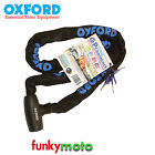 OXFORD GP CHAIN LOCK MOTORCYCLE SCOOTER MOTORBIKE SCOOTER SECURITY 1.5M 150CM