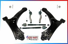 CONTROL ARM KIT WITH TIE RODS BALL JOINTS FITS TOYOTA COROLLA 03-08 ALL TRIMS