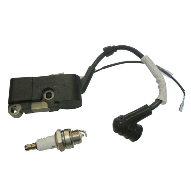 Ignition Coil Spark Plug For Chinese Chainsaw 45cc// 52cc 58cc 4500 5200 5800 New