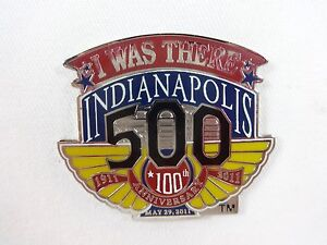 2011-Indianapolis-500-100th-Anniversary-Collector-I-Was-There-Pin-Dan-Wheldon