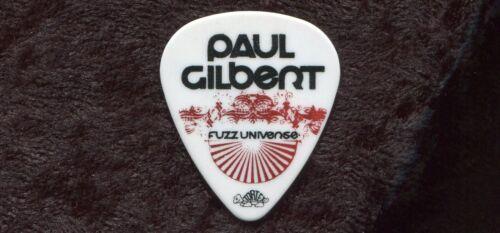 PAUL GILBERT 2010 Universe Tour Guitar Pick His custom concert stage MR BIG #1