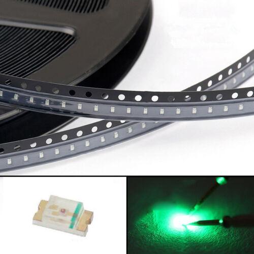 100Pcs 0603 Green Light SMD SMT LED Lamp Diodes Emitting Super Bright