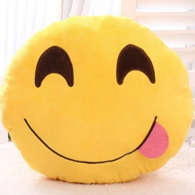 Toy Emoji Smiley Emoticon 2/3/6 Inch Stuffed Plush Cushion Lovely