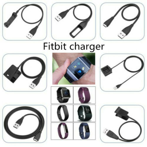 Original USB Charging Cable Charger Lead for Fitbit Alta HR Blaze Ionic Versa