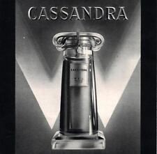 ▬► PUBLICITE ADVERTISING AD Parfum Perfume Cassandre WEIL 1936
