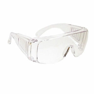 df56d39fc7a Clear Shop Lab Safety Glasses LOT of 2 EYE Protection Side Shield ...