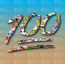 """100 Stickerbomb Sticker Bomb Emoji Race Drift 4"""" Custom Vinyl Decal Sticker JDM"""