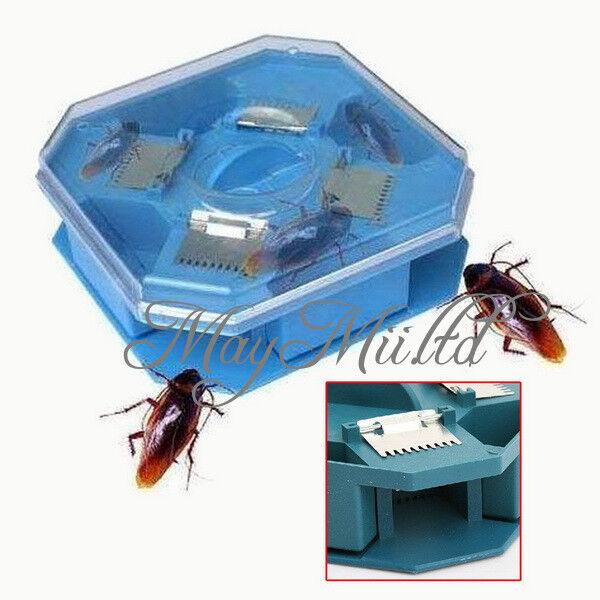 Safe Kitchen Pollution Automatic Control Cockroach Catcher Trap Insert Killer JM