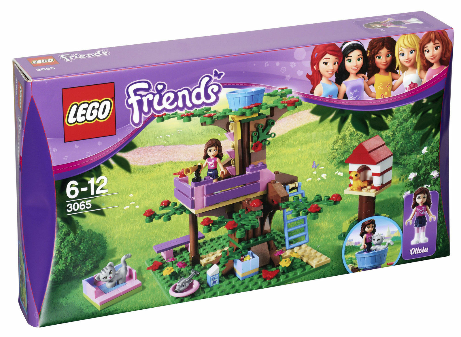 Lego Friends aventura Baumhaus (3065)