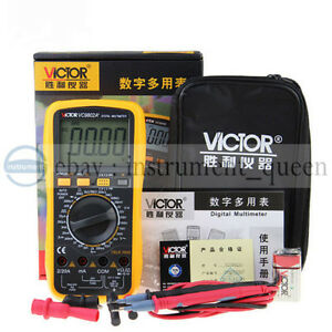 Victor VC9802A+ Digital Multimeter 3 1/2 with carrying bag !!NEW!!!