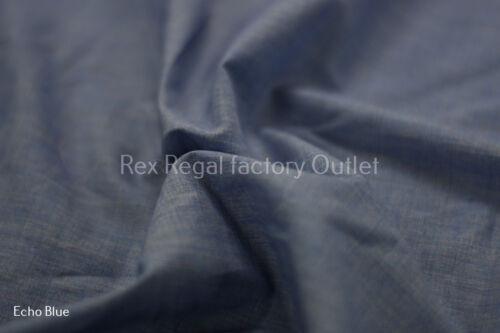 Plain Popeline en polycoton tissu robe doublure toile lavable en machine Soft Craft