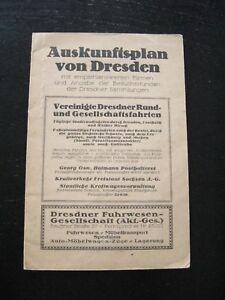 alter Plan Auskunftsplan von Dresden um 1910 Dresden Mitte Alt-Stadt Striesen