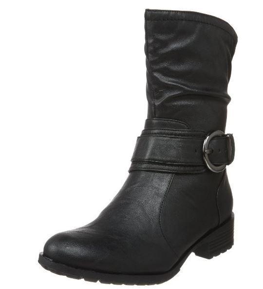 Naturalizer Mujer Cordey bota, Negro, 5.5 M US US US  para barato