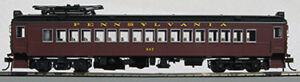 HO-MUmP54-Pennsy-Post-War-Powered-Coach-w-Aluminum-Windows-Car-524-1-94771