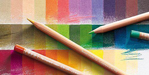 Caran d/'Ache artiste Luminance Crayons 76 crayons