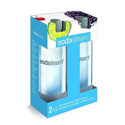 Sodastream PET 2 Flaschen Duopack Sodaclub Ersatzflaschen Flasche Wassersprudler