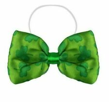 Crossover Bow Tie Green Celtic St Patricks Day Irish Ireland 100/% Pure Wool Felt