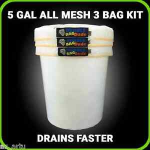 All-MESH-ICE-Extraction-Bubble-ice-Bags-Extractor-5-Gallon-3-Bag