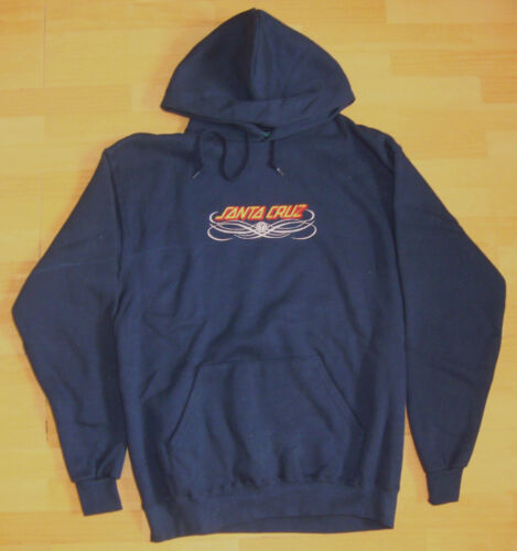 30DY SANTA CRUZ Lines Skateboard Hooded Top Hoodie Navy M