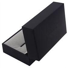 Deluxe Cufflink Cuff Links Storage Gift Box Jewelry Display Case Z1M4